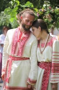 старославянское венчание